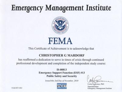 100 Fema Eservices Application Suite Login Identification Card